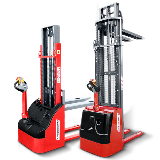 Pegasolift electric pallet stackers
