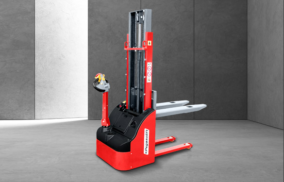 Electric pallet stacker W12